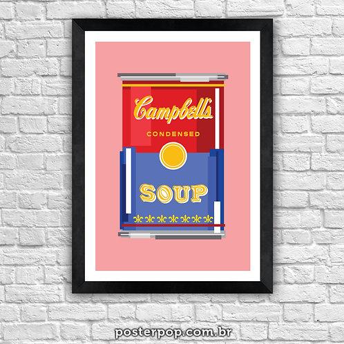 Poster Pop Sopa Campbell
