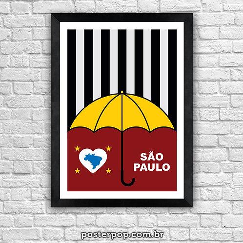Poster São Paulo Terra da Garoa
