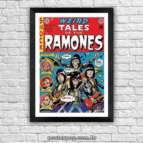 Poster Ramones - Weird Tales Comics