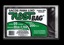 Plastili Saco de Lixo em Plast Bag 200L
