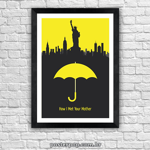 Poster How I Met Your Mother - New York