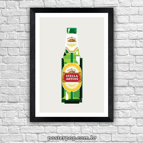 Poster Stella Artois Pixel
