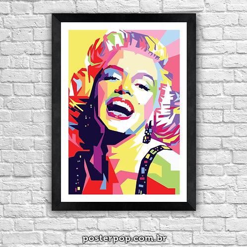 Poster Marilyn Monroe Sorrindo