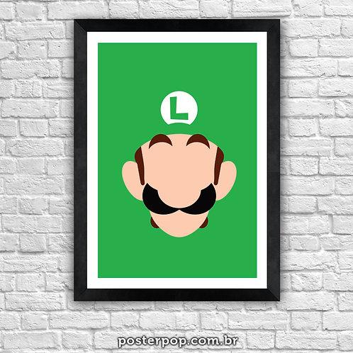 Poster Luigi Minimalista