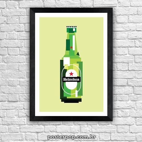 Poster Heineken Pixel