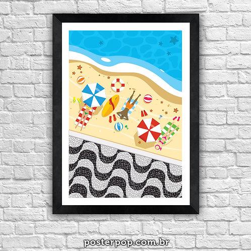 Poster Praia de Copacabana