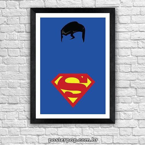 Poster Superman Minimalista