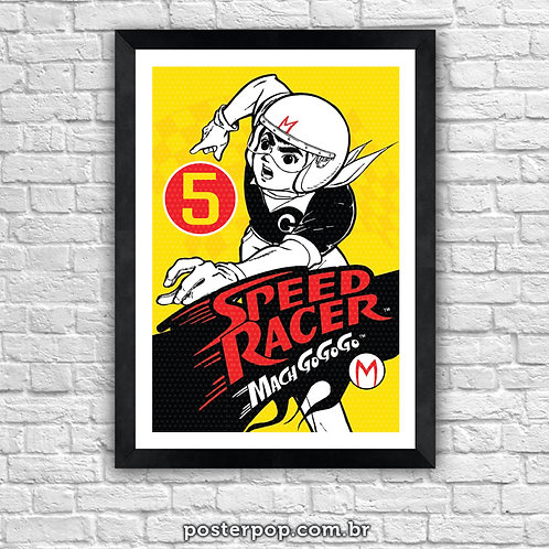 "Poster ""Speed Racer 5"""
