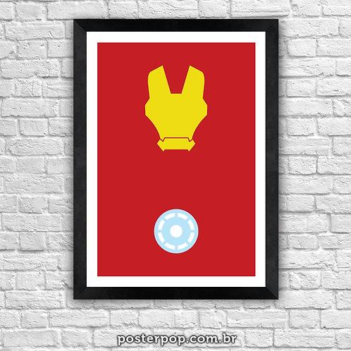 Poster Homem de Ferro Minimalista