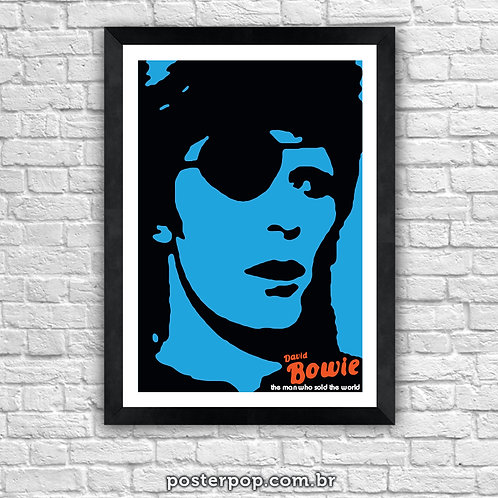 """Poster """"Bowie Sold The World"""""""