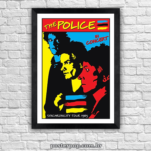 Poster The Police - Synchronicity