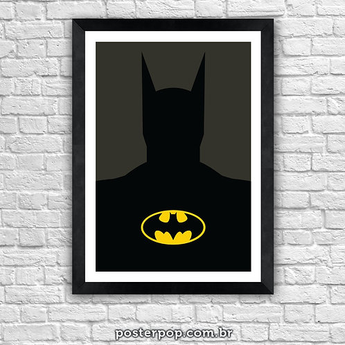 Poster Batman Minimalista