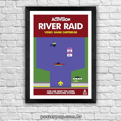 Poster River Raid - Atari