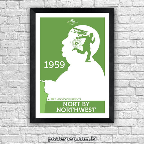 Poster Hitchcock North by Northwest