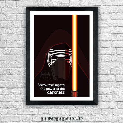Poster Star Wars Kylo Ren - Darth Vader