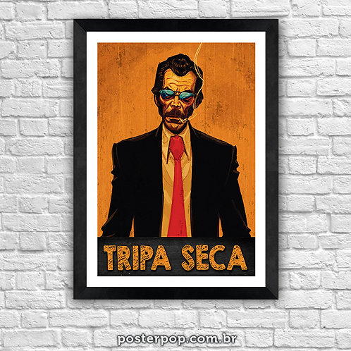 "Quadro Poster ""El Tripaseca"" Tripa Seca Chapolin Colorado"