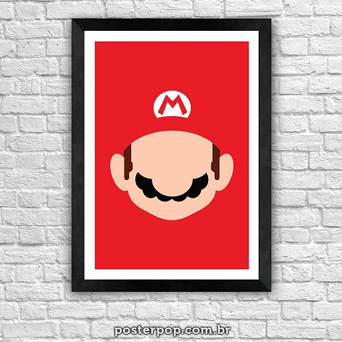 Poster Super Mário Minimalista