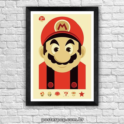 Poster Super Mário