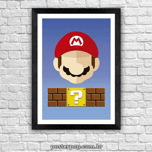 Poster Super Mário Blocks