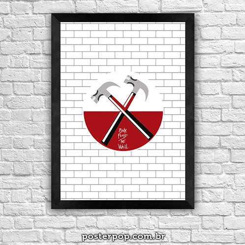 Poster Pink Floyd The Wall White