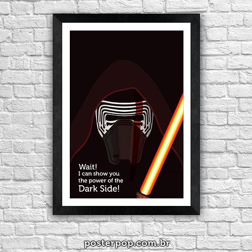 Poster Star Wars Kylo Ren - Dark Side