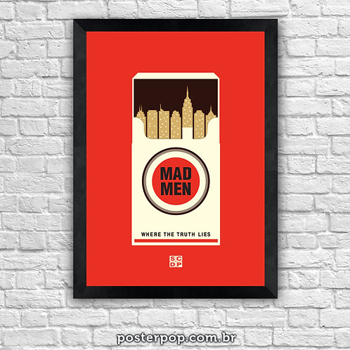Poster Mad Men - Lucky Strike