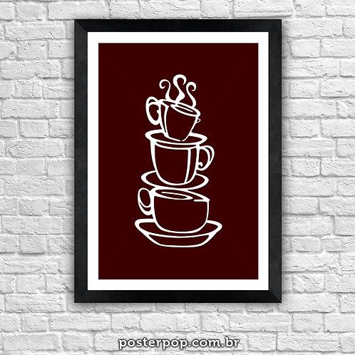 Poster Pop Café