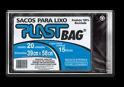 Plastili Saco de Lixo em Plast Bag 15L