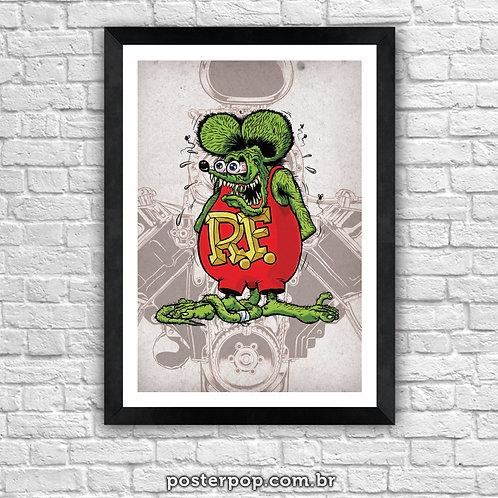 Poster Rat Rod Rat Fink