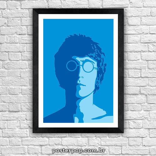 Poster Lennon - Imagine Blue