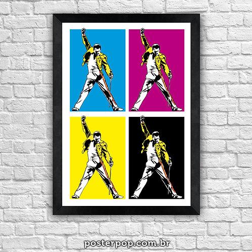 Poster Fred Mercury - Queen