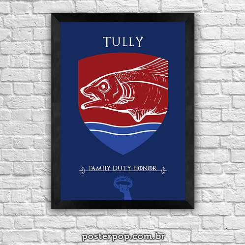 Poster Game Of Thrones - Tully House