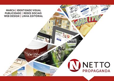 Apresentação Netto Propaganda - Logotipos