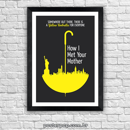 Poster How I Met Your Mother - Yellow Umbrella