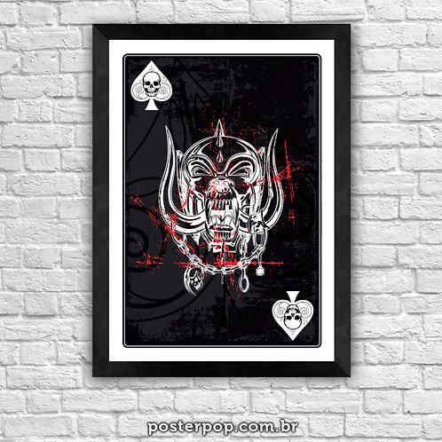 "Poster Motorhead ""Aces Snaggletooth"""