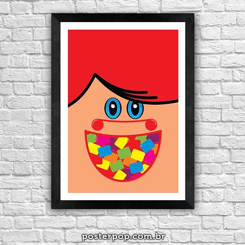 Poster Mini Chicletes Minimalista