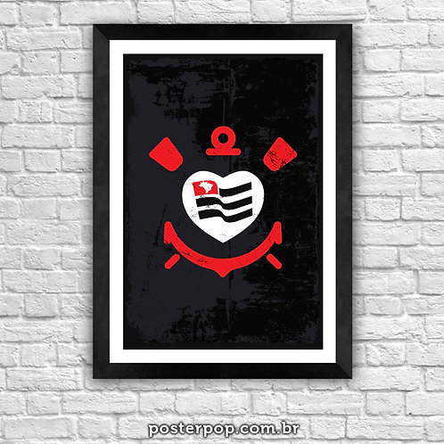 Poster Amor Corinthians