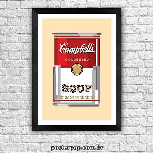Poster Sopa Campbell
