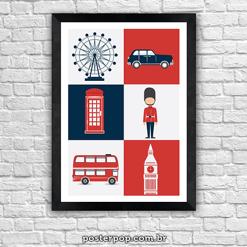 Poster London Icons