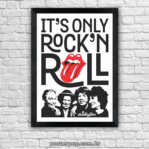 Poster Rolling Stones Only Rock'n'Roll 2