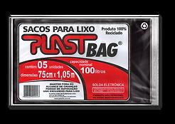 Plastili Saco de Lixo em Plast Bag 100L