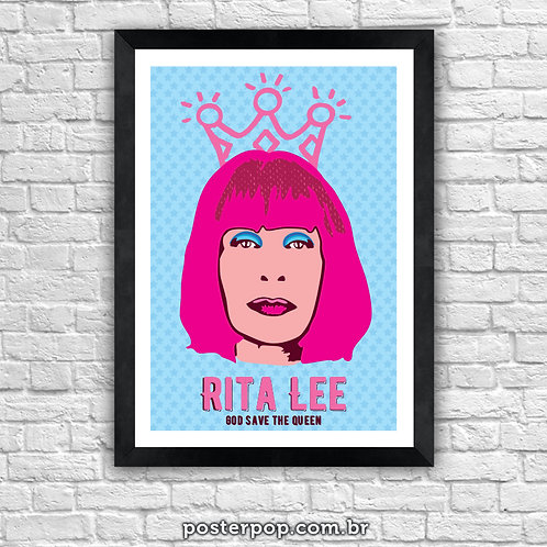 Poster Rita Lee - God Save The Queen
