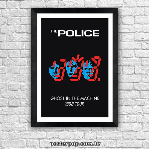 Poster The Police - ghost in the machine