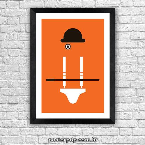Poster Laranja Mecânica - Alex