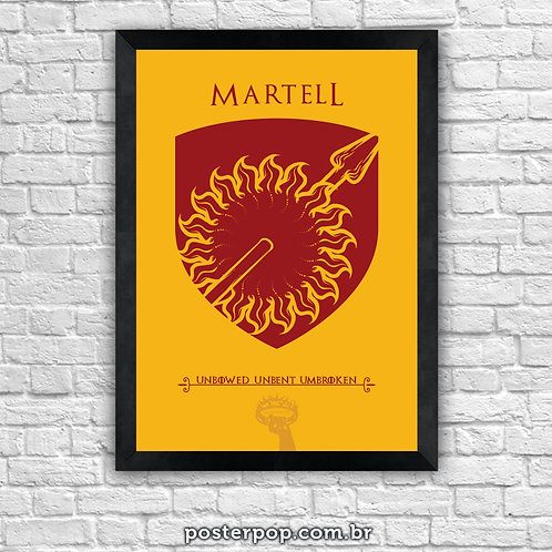 Poster Game Of Thrones - Martell House