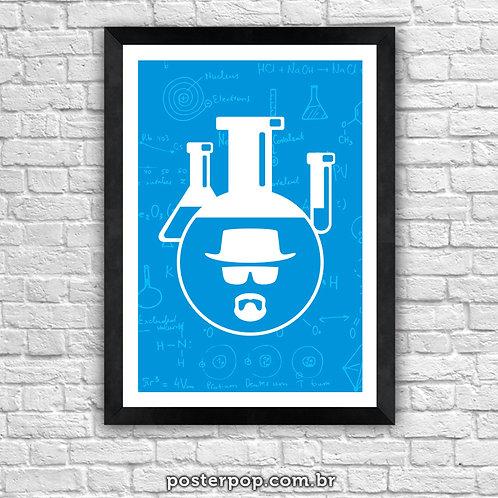 Poster Breaking Bad Blue Magic