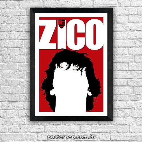 Poster Zico Flamengo