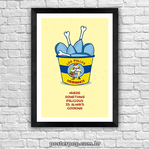 Poster Los Pollos Hermanos
