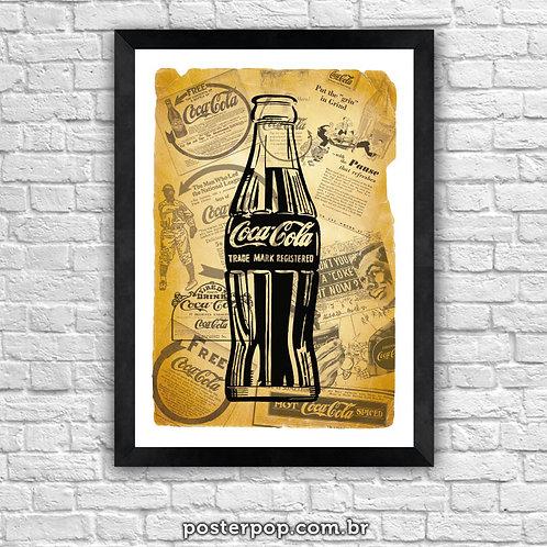 Quadro Poster Coca Cola VIntage
