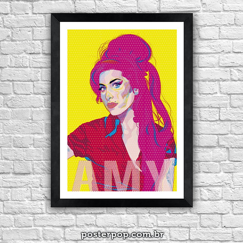 Poster Amy Winehouse Pink